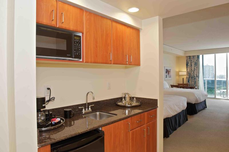 Kitchen Fully Equipped! - Ocean View,Luxury Suite-Trump Beach Resort $150/n - Sunny Isles Beach - rentals