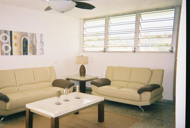 Spacious Open Living Room - Sol y Mar Residence - Luquillo - rentals