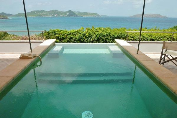 Beautiful villa offering wonderful views of the ocean and sunset WV DEL - Image 1 - Pointe Milou - rentals