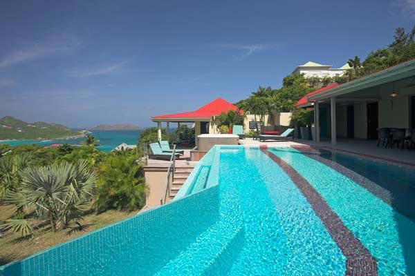 Large contemporary villa overlooking the ocean & the countryside WV LMR - Image 1 - Saint Jean - rentals