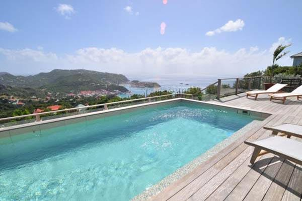 Private villa with incredible views up on the hill in Colombier WV ING - Image 1 - Colombier - rentals