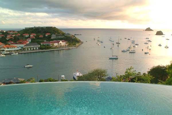 Prestigiously positioned villa perched on hillside above Gustavia WV LAM - Image 1 - Gustavia - rentals