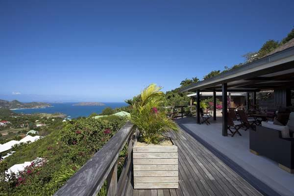 Quaint villa with elegant colonial style located in Petite Saline WV MAP - Image 1 - Saint Barthelemy - rentals
