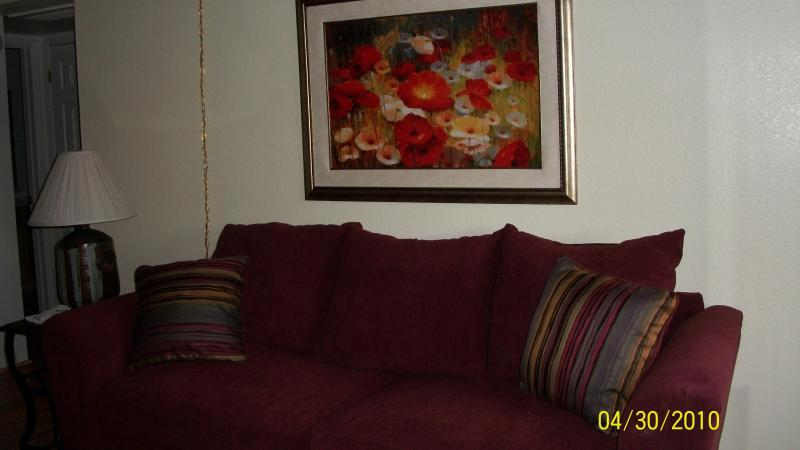 living room - Scenic Foothills Condo-WIFI-Res INEXP summer month - Tucson - rentals