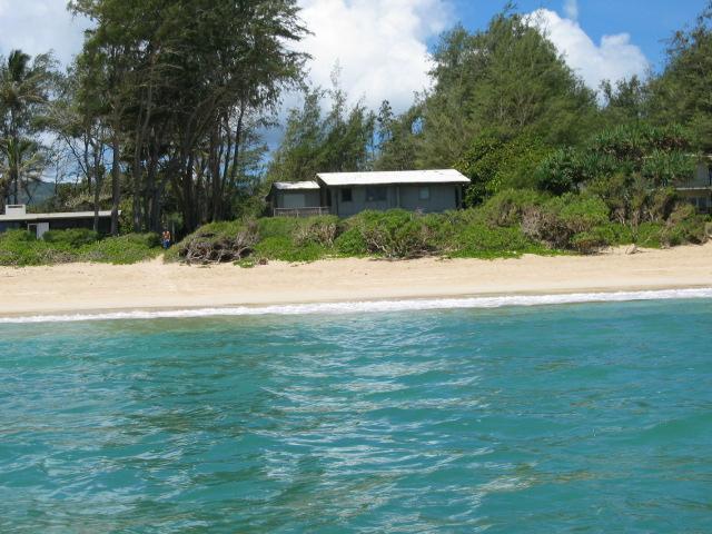 View of the house from a kayak! - Hale Malaekahana - Kahuku - rentals