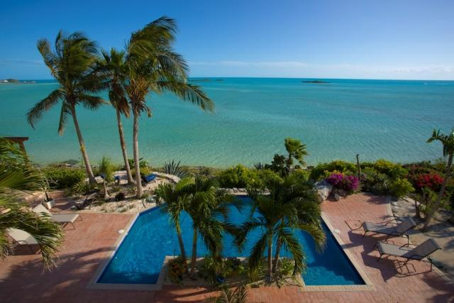 vew from the property - Three Cays Villa - Providenciales - rentals