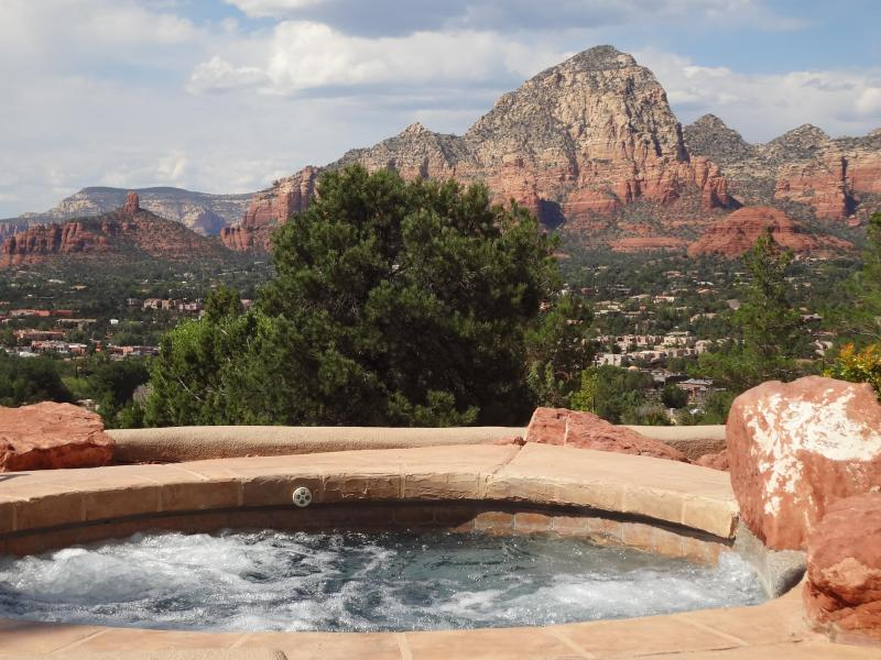 10 person heated, jetted spa - Pool & Spa-Heated-Private-Scenic Red Rock Views - Sedona - rentals