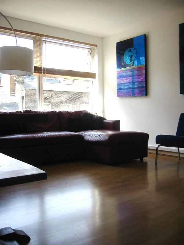 Spacious lounge and dining area - Large apartment in Soho, Central London, 2 bedroom - London - rentals