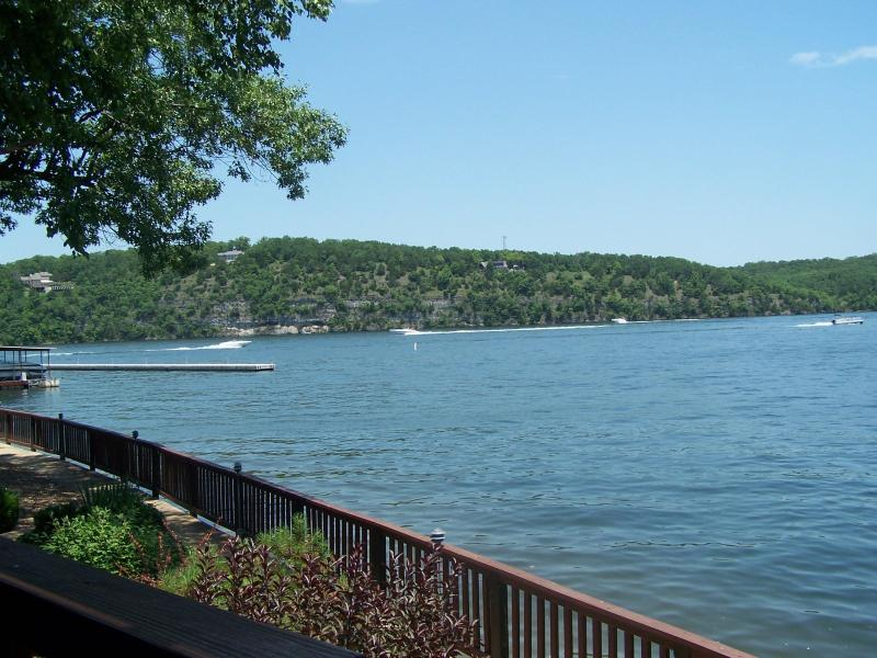 Lake view from deck - COZY CONDO - Osage Beach - rentals