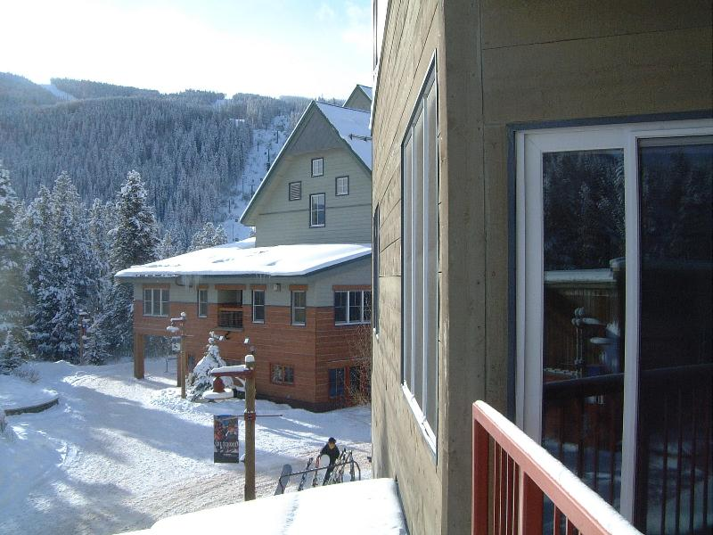 View from Balcony 1 - Silver Mill, River Run- Closest to Slopes (2 mins) - Keystone - rentals