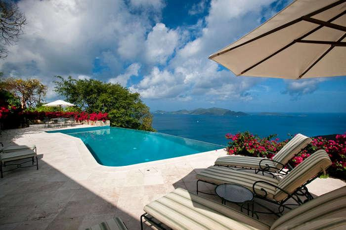 Luxury 5 bedroom Tortola, BVI villa. Private 8-acre hilltop estate with 300-degree bird's-eye view! - Image 1 - Belmont - rentals