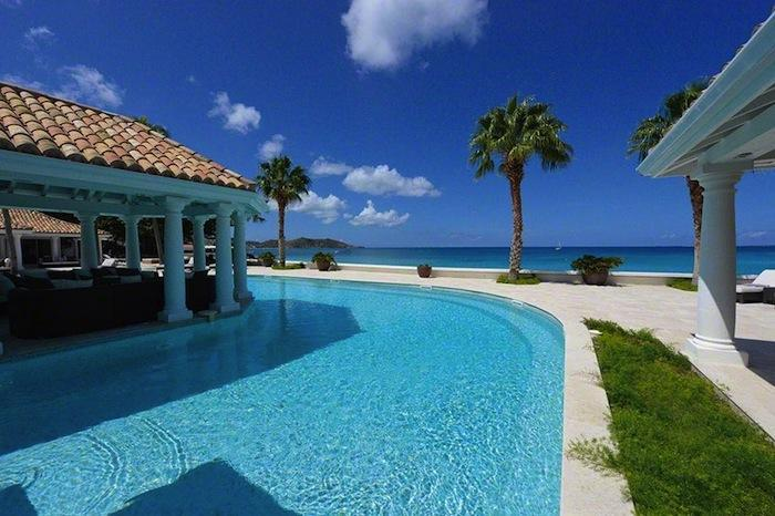 Luxury 6 bedroom Grand Case (French side) villa. Beachfront, gorgeous sunsets - Image 1 - Grand Case - rentals