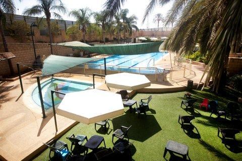 The pool - Raanana Luxury - Premium 2BR Duplex + Pool (REF10) - Ra'anana - rentals