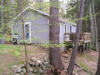 view of Provance - PROVENCE | SECLUDED TWO-BEDROOM COTTAGE | WOODED SETTING | PET FRIENDLY| ASSOCIATION DOCK & FLOAT - Boothbay - rentals