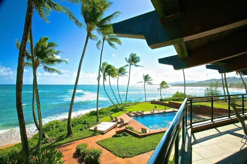 Ocean Pool and Coastal Views - Hale Awapuhi Villa 2G - Ocean Front Condo, Wailua - Kapaa - rentals