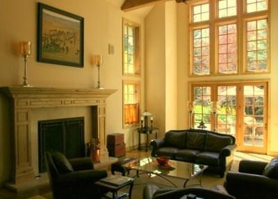 Living Room  - Extraordinary Luxury Mountain Retreat: Deer Run 117 in Gimlet - Ketchum - rentals