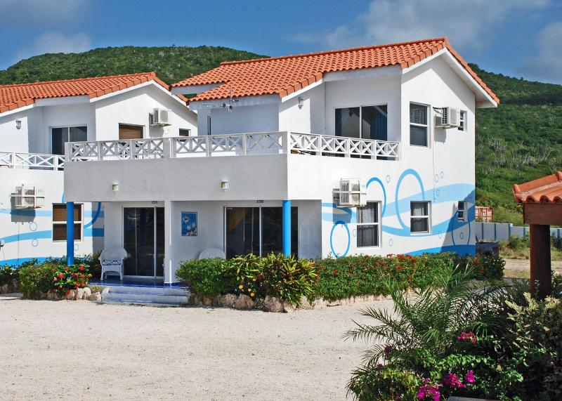 Our units, 10A and 10B 50 ft from ocean - Curacao Vacation Relax at Villa #10, SCUBA w GoWest Divers! - Westpunt - rentals