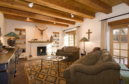 Living Room - Magdalena Adobe - Santa Fe - rentals