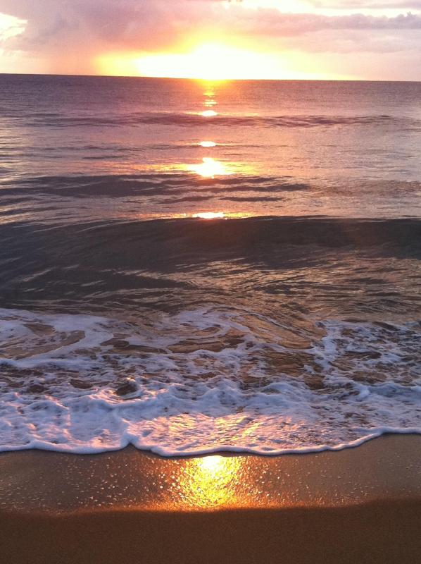 Great sunsets await you in the front of our condo - Outstanding villa w/ beautiful sunsets @ the beach - Rincon - rentals