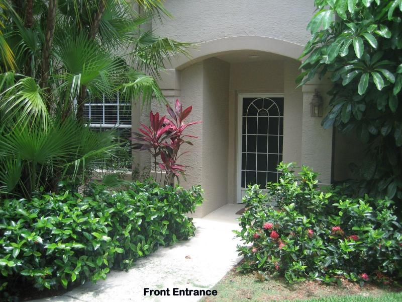 Front Entrance - Dream Home at Exclusive Community of Strand Naples - Naples - rentals