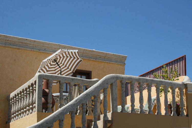 upstairs patio at the electric catfish unit - The Hideaway - Puerto Penasco, Sonora Mexico - Puerto Penasco - rentals