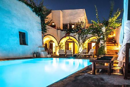 Mansion 1878 - Spacious villa with pool, panoramic views & unique character - Image 1 - Megalochori - rentals