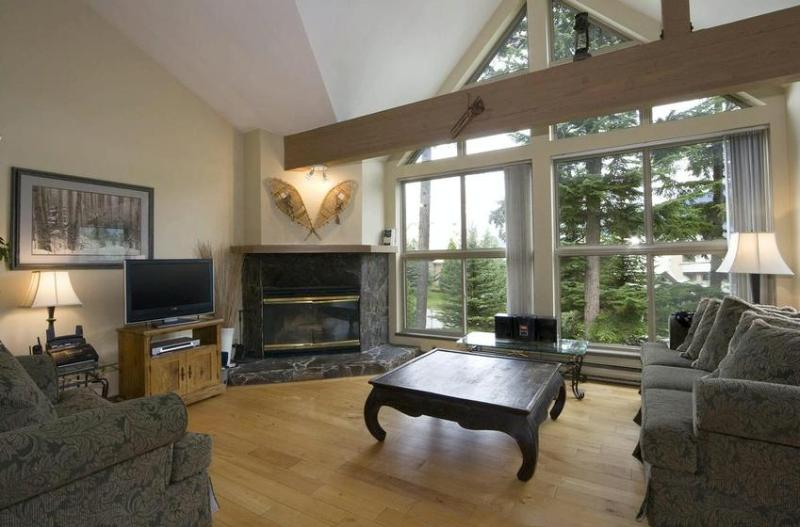 Living Area A - Gary McElroy - Whistler - rentals