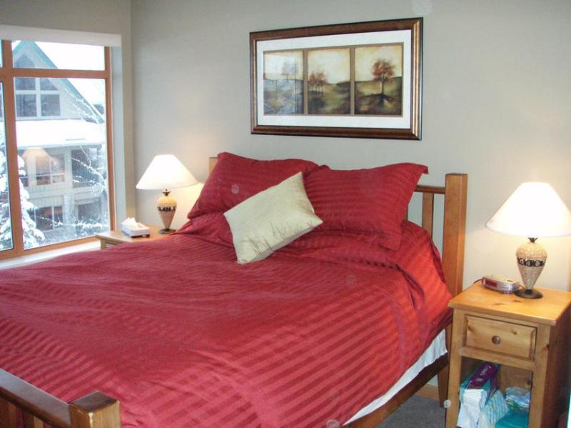 Master Bedroom - Mark - Whistler - rentals