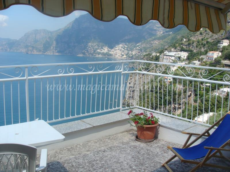 Casa Clementina- with huge terrace + view to Capri - Image 1 - Praiano - rentals