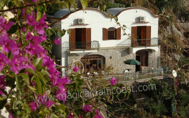 Villa Vittoria - right above the sea - Image 1 - Praiano - rentals