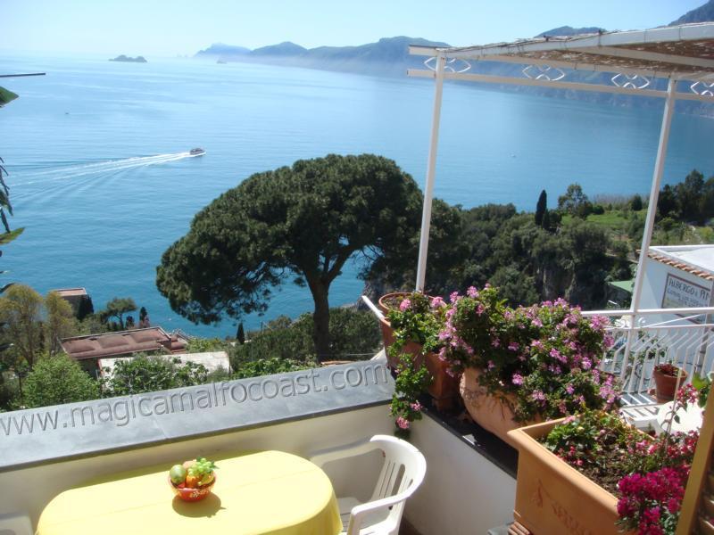 Casa Agata (Il Nido) - magnifique view to Capri - Image 1 - Praiano - rentals