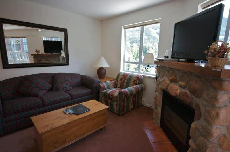 Stunningly renovated condo in the heart of the village, short walk to lifts! Hot Tub, flat screen TV! Free Internet - Town Plaza - Walk to Lifts, views, full kitchen, shops and restaurants - Whistler - rentals