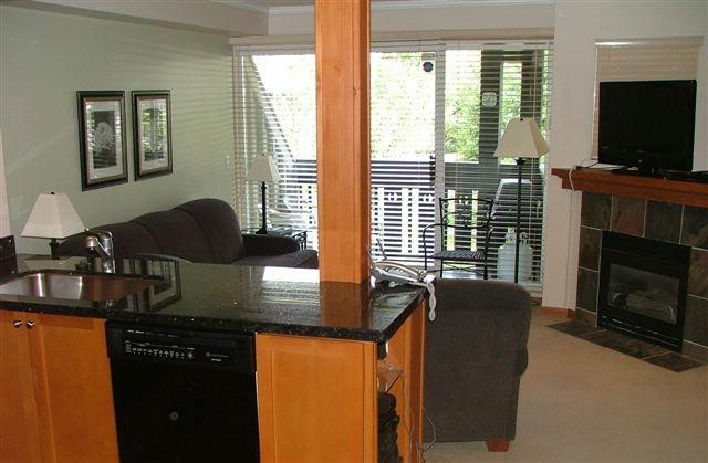 Stunning mountain views from open concept kitchen, living and dining areas - Peak 2 Peak Retreat - Whistler - rentals