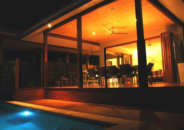 Night Deck Set from Pool - Trito House Palm Cove - The Boutique Collection - Palm Cove - rentals