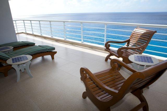 Nah ha condo #702 balcony - Nah ha#702 fabulous condo in pristine conditions! - Cozumel - rentals