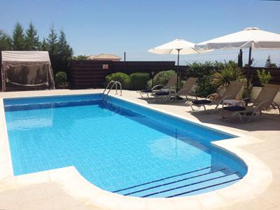 The beautiful pool - Luxurious Detached Villa in Paphos, Cyprus - Paphos - rentals