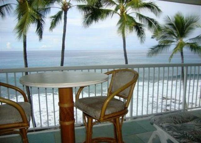 KMS313  TOP FLOOR DIRECT OCEANFRONT!!! Wifi in condo! Gorgeous! - Image 1 - Kailua-Kona - rentals