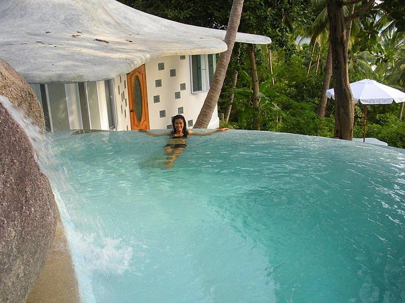 Relax in your own private infiniti pool! - Bougainvillea Villa - Koh Tao - rentals