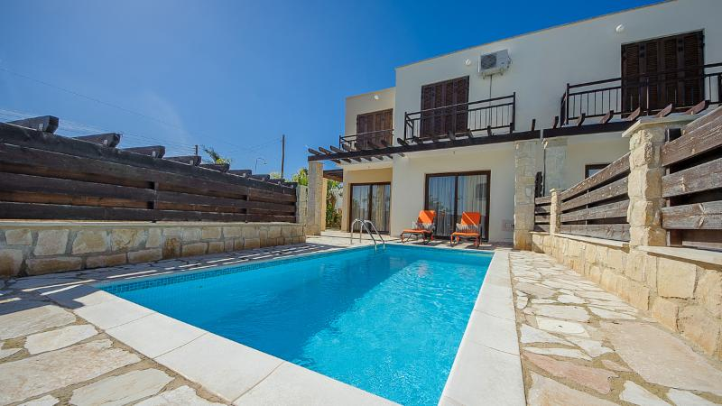 Oceanview Villa 010 - on a private gated complex - Image 1 - Protaras - rentals