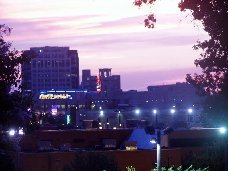 View from Balcony - Beautiful condo on Memphis' Historic Beale Street - Memphis - rentals