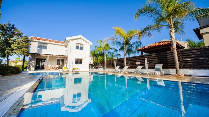 Oceanview Villa 013 - with beautiful gardens - Image 1 - Protaras - rentals