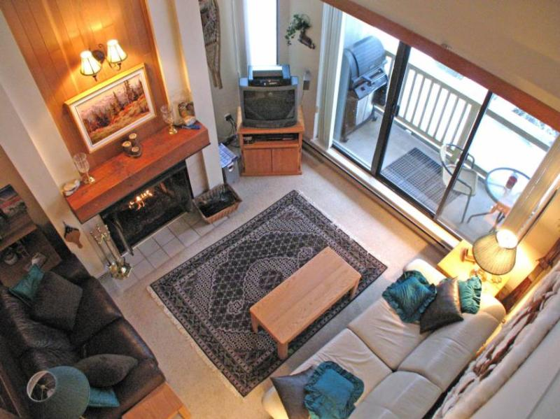 Living Room Viewed From Loft - Dirk DeVuyst - Whistler - rentals