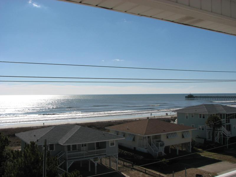 View from the porch - 8BR/7B OceanView WK 5/30 Special 25% disc - North Myrtle Beach - rentals
