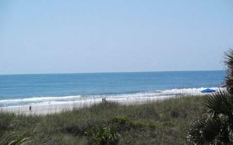 Beautiful view from the balcony - Sea View is at the Beach! - Fernandina Beach - rentals