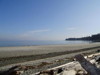 Outdoor living beachside - Spectacular 3 Bedroom Comox Valley Beach Front Home at Miracle Beach - Comox - rentals
