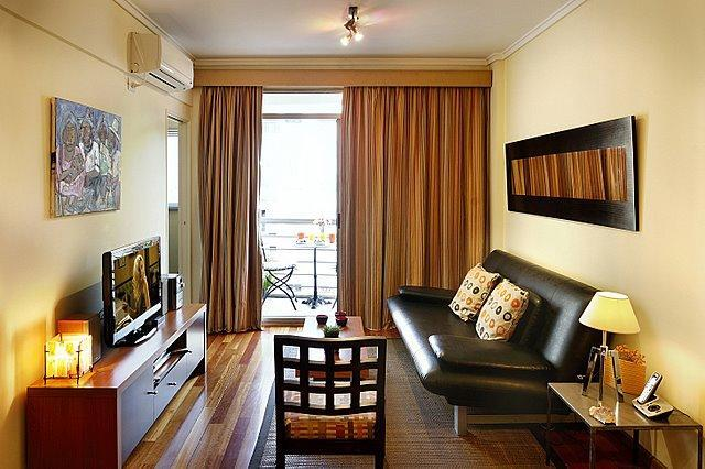 Living room with sofa bed - Luxury Recoleta Location - Balcony with Nice Views - Buenos Aires - rentals