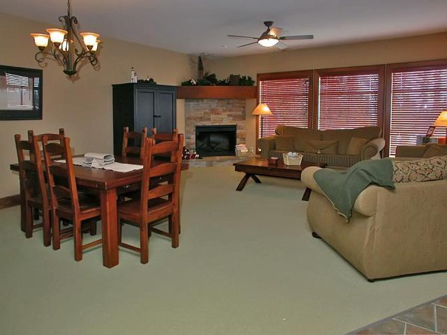 The great/living room - wonderful view and lots of sunlight! - Dan and Kim van Bruinessen - Big White - rentals