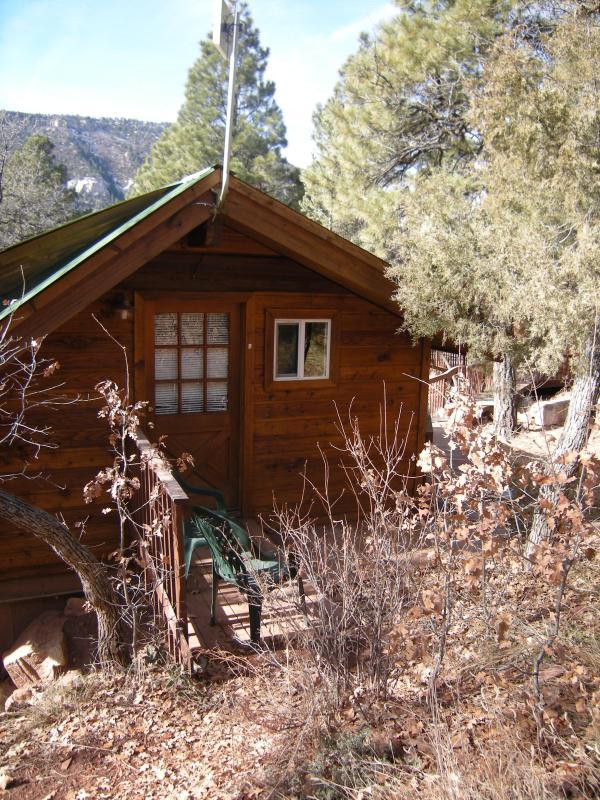 Front door - Animas Valley Hideaway in Durango from $75 a nite! - Durango - rentals