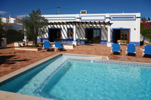The ramped pool - Wheelchair accessible cottage As Casinhas, Algarve - Boliqueime - rentals