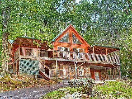 #1 NATURE'S HAVEN LOG CABIN,20%OFF RATES - Image 1 - Gatlinburg - rentals